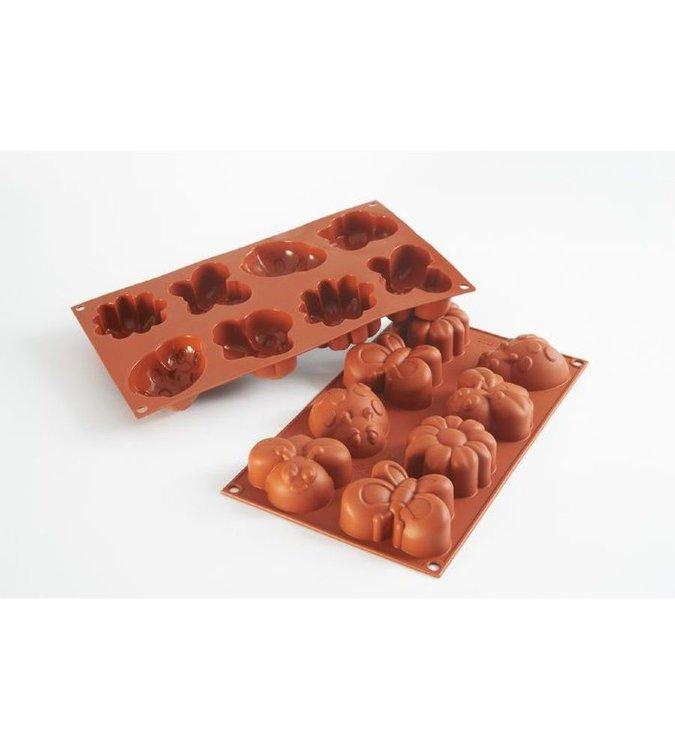 Форма силиконовая для выпечки печенья МВ 3715